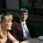 Associate Professor Pamela Ballinger (University of Michigan) and Assistant Professor Mark Toufayan (University of Ottawa)