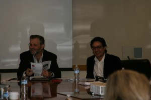 Associate Professor Keith David Watenpaugh (UC Davis) and Assistant Professor in Residence Glenn Mitoma (University of Connecticut)