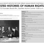 Contested Histories of Human Rights Symposium Program
