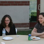 Assistant Professor Caroline Shaw (Bates College) and Assistant Professor Corrie Decker (UC Davis)